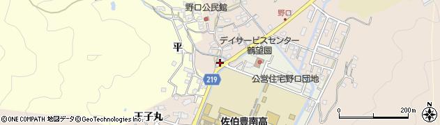 大分県佐伯市鶴望2897周辺の地図