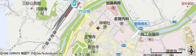 大分県竹田市竹田町580周辺の地図
