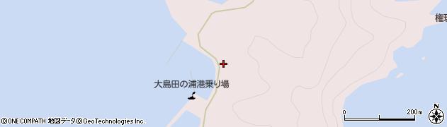 大分県佐伯市鶴見大字大島1081周辺の地図
