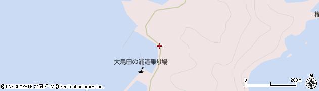 大分県佐伯市鶴見大字大島1078周辺の地図