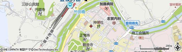 大分県竹田市竹田町579周辺の地図