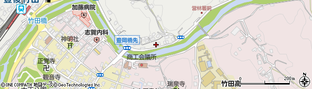 大分県竹田市会々2207周辺の地図