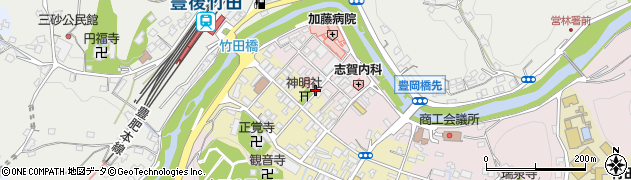 大分県竹田市竹田1880周辺の地図