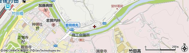 大分県竹田市会々2196周辺の地図