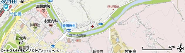 大分県竹田市会々2192周辺の地図