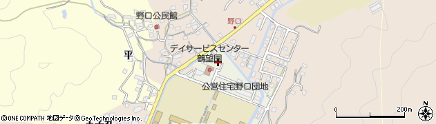 大分県佐伯市鶴望3619周辺の地図