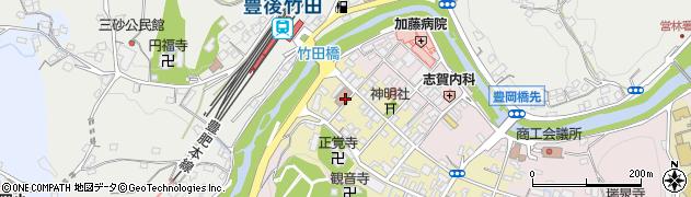 大分県竹田市竹田町574周辺の地図