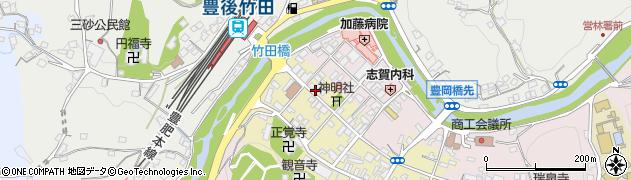 大分県竹田市竹田町555周辺の地図