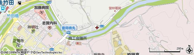 大分県竹田市会々2189周辺の地図