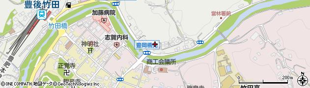 大分県竹田市会々2180周辺の地図