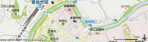 大分県竹田市竹田1888周辺の地図