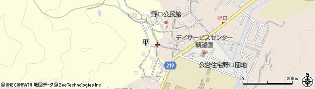 大分県佐伯市鶴望2974周辺の地図
