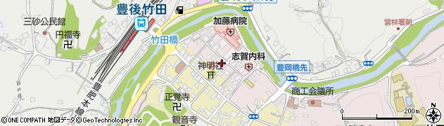 大分県竹田市竹田1877周辺の地図