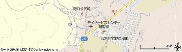 大分県佐伯市鶴望3158周辺の地図