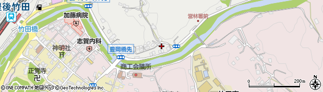 大分県竹田市会々2186周辺の地図