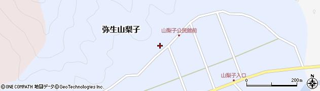 大分県佐伯市弥生大字山梨子1558周辺の地図
