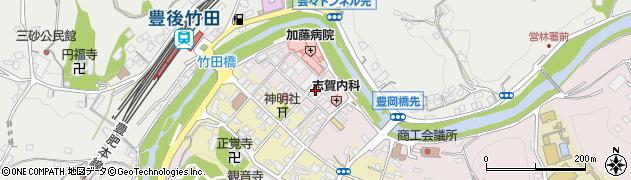 大分県竹田市竹田1865周辺の地図