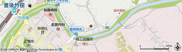 大分県竹田市会々2176周辺の地図
