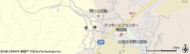 大分県佐伯市鶴望3149周辺の地図