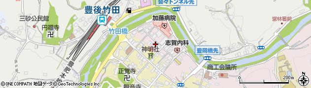 大分県竹田市竹田1881周辺の地図