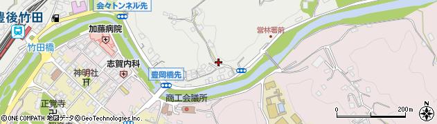 大分県竹田市会々2062周辺の地図