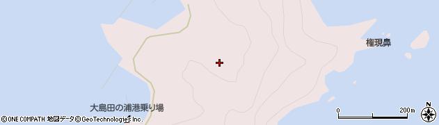 大分県佐伯市鶴見大字大島1129周辺の地図
