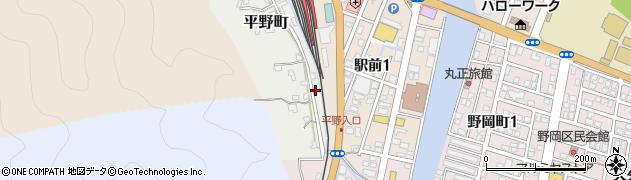 大分県佐伯市平野町7周辺の地図