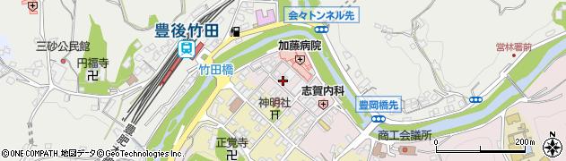 大分県竹田市竹田1869周辺の地図