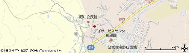 大分県佐伯市鶴望3190周辺の地図