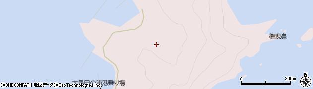 大分県佐伯市鶴見大字大島1118周辺の地図