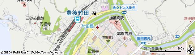 大分県竹田市竹田1818周辺の地図