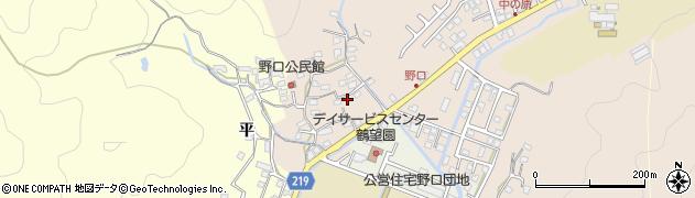 大分県佐伯市鶴望2726周辺の地図