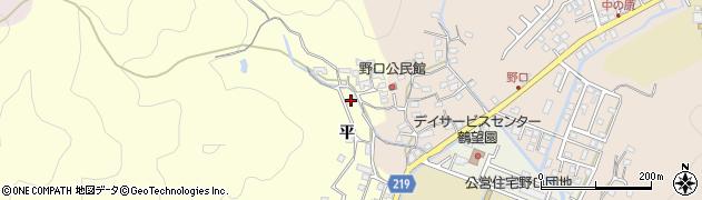 大分県佐伯市鶴望2983周辺の地図