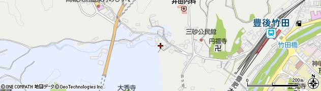 大分県竹田市会々2513周辺の地図
