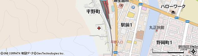 大分県佐伯市平野町2周辺の地図