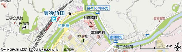 大分県竹田市竹田1855周辺の地図