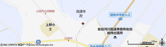 大分県佐伯市弥生大字上小倉578周辺の地図