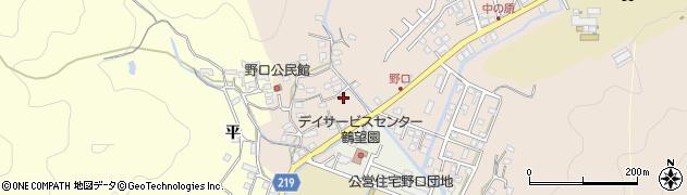 大分県佐伯市鶴望3199周辺の地図