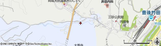 大分県竹田市飛田川3504周辺の地図