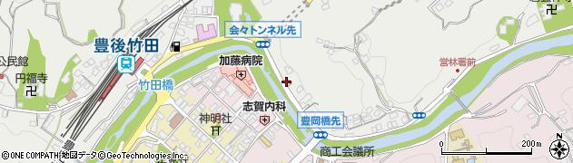 大分県竹田市会々2237周辺の地図
