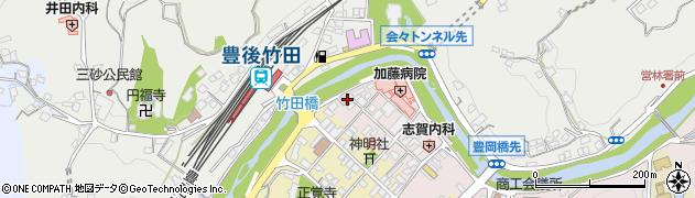 大分県竹田市竹田1827周辺の地図