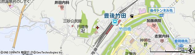 大分県竹田市会々2355周辺の地図