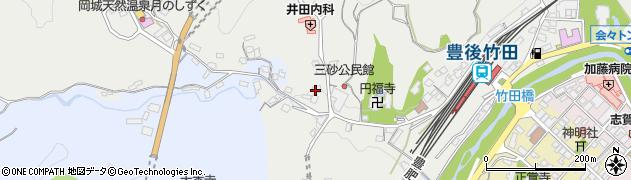 大分県竹田市会々2597周辺の地図