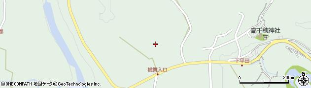 大分県竹田市平田1247周辺の地図