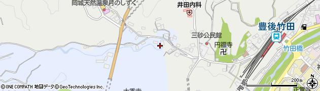大分県竹田市飛田川3508周辺の地図