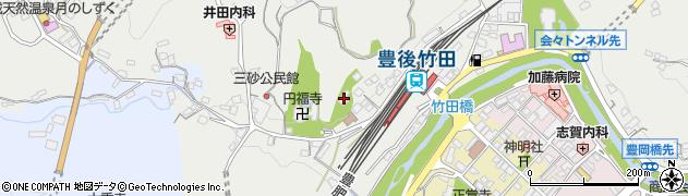 大分県竹田市会々2356周辺の地図