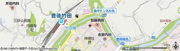 大分県竹田市竹田1871周辺の地図