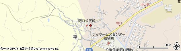 大分県佐伯市鶴望3215周辺の地図