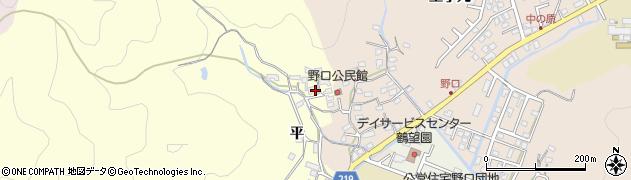 大分県佐伯市鶴望3137周辺の地図