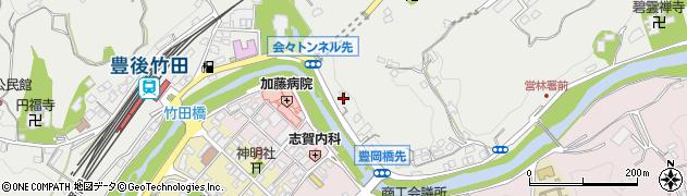 大分県竹田市会々2236周辺の地図